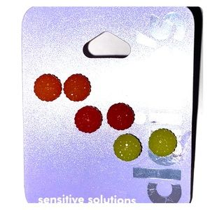 Sparkly sphere earrings